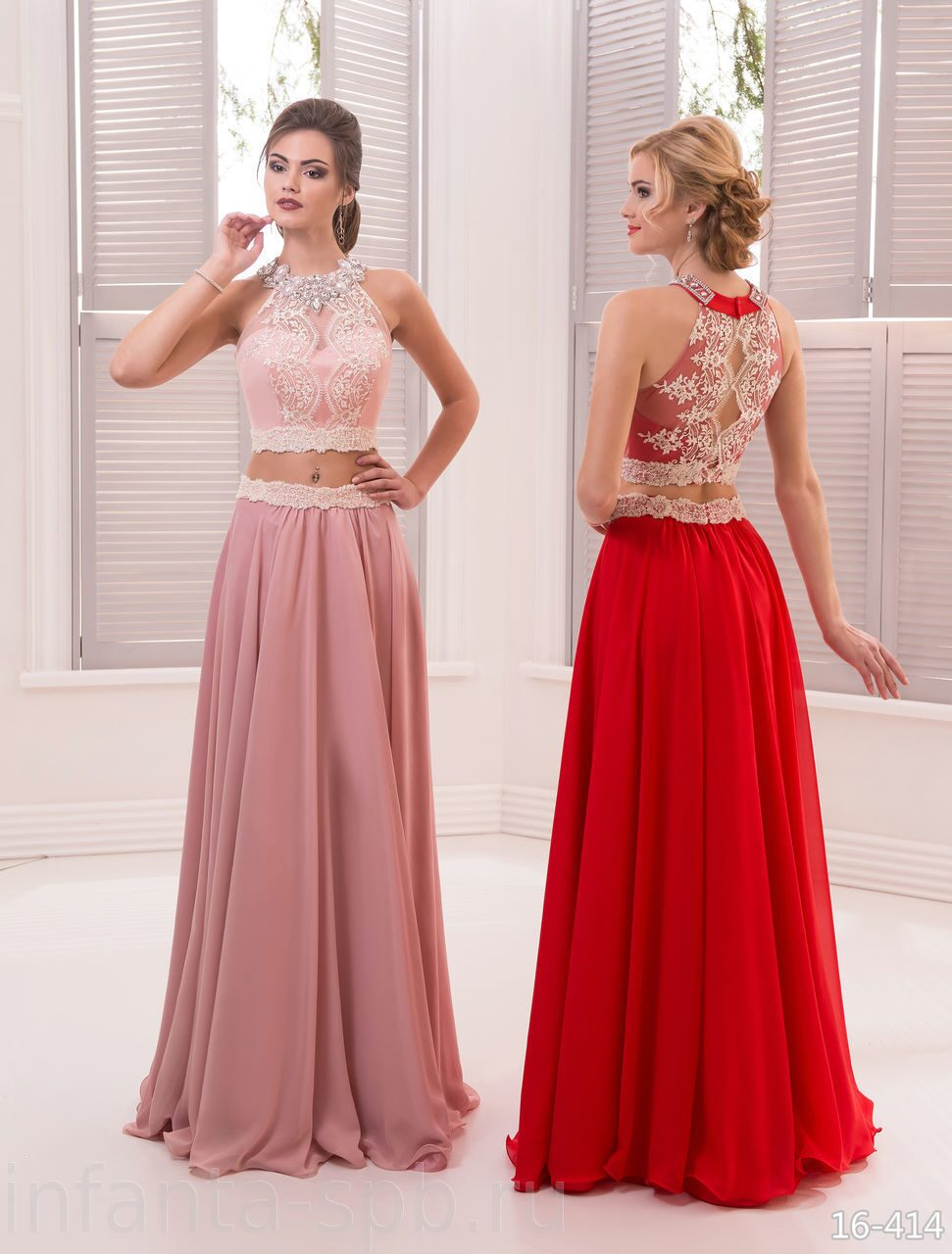 e9e12f030b9 Кроп-топ и юбка нежно розового цвета | ПЛАТЬЕ НА ВЫПУСКНОЙ