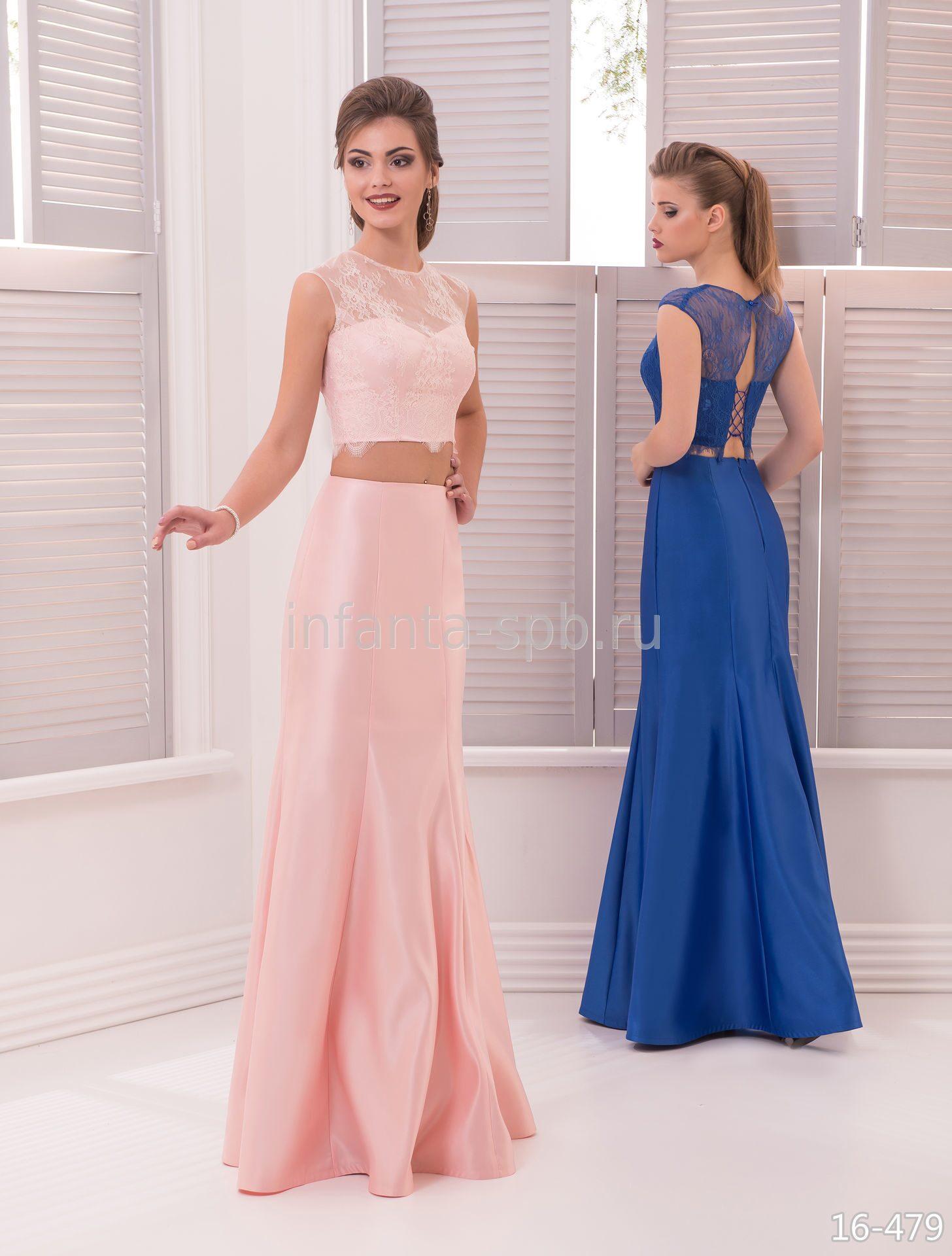 Вечернее платье юбка и топ купить