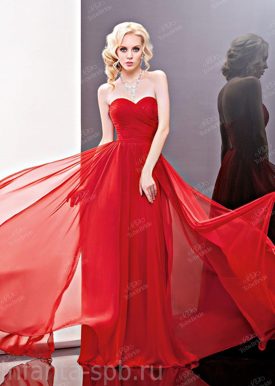 Вечернее платье красное купить в спб