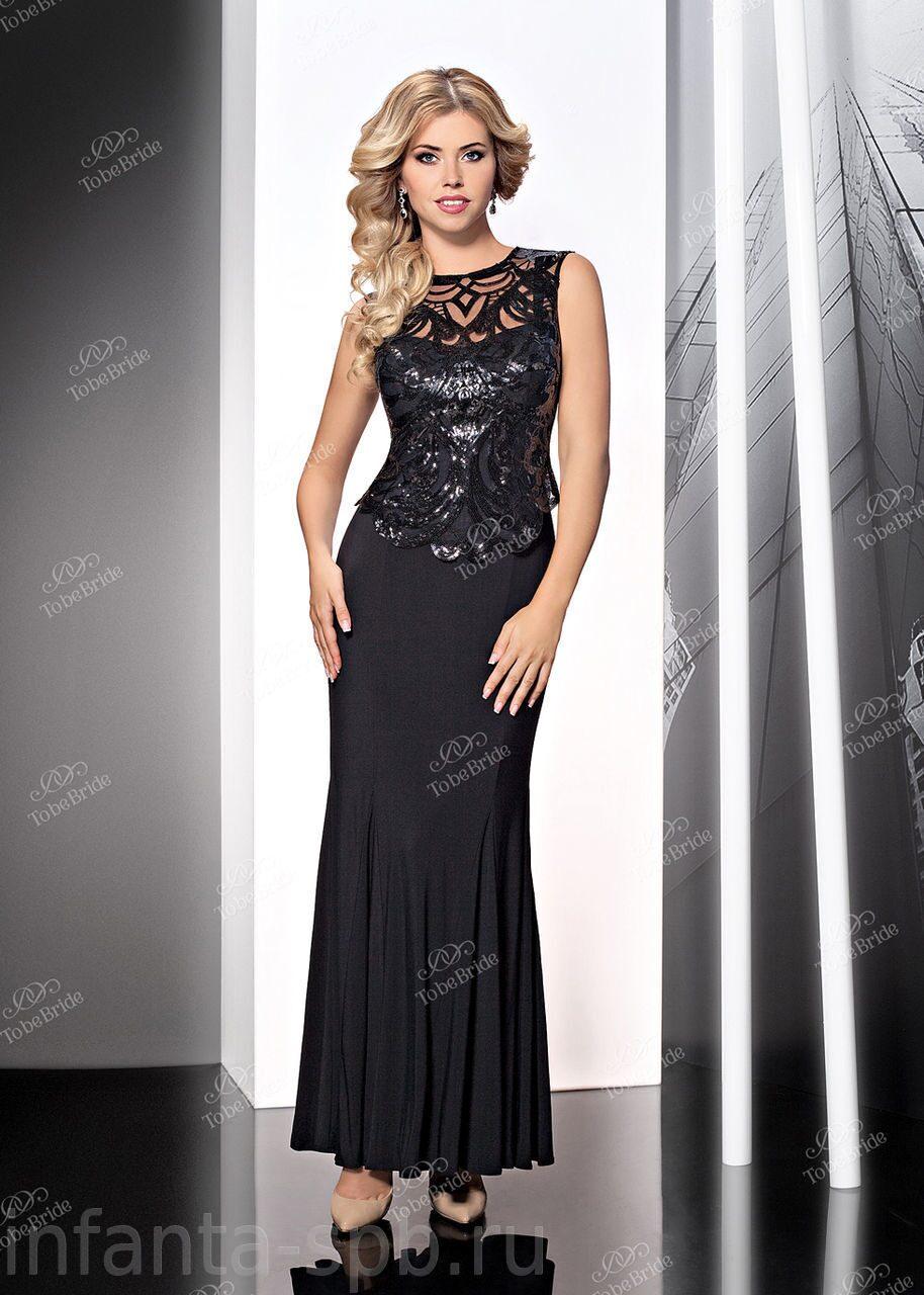 Вечернее платье приталенное