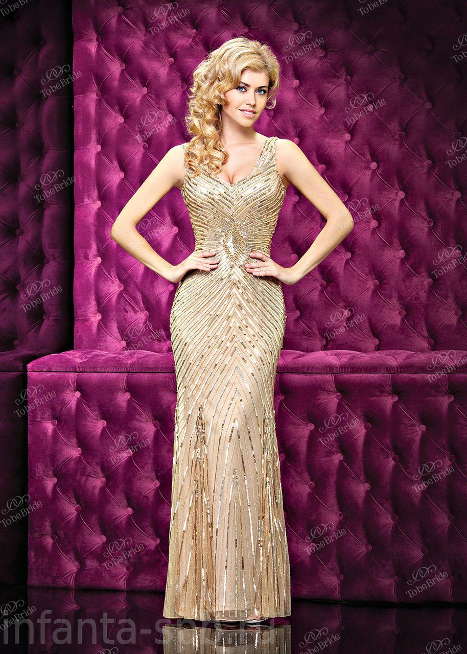 Вечернее Платье Золотое Купить