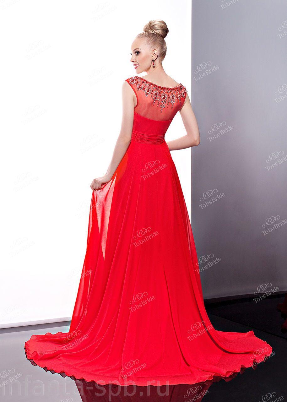 Купить спб красное платье