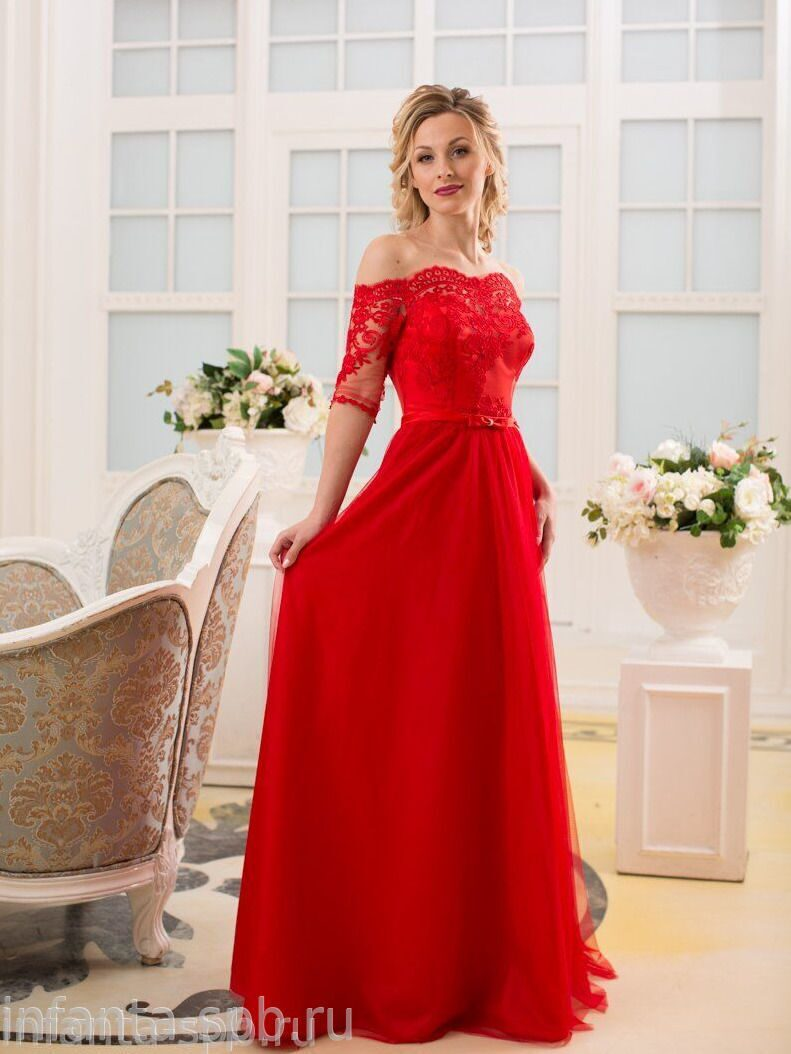 Купить Вечернее Красное Платье В Интернет Магазине