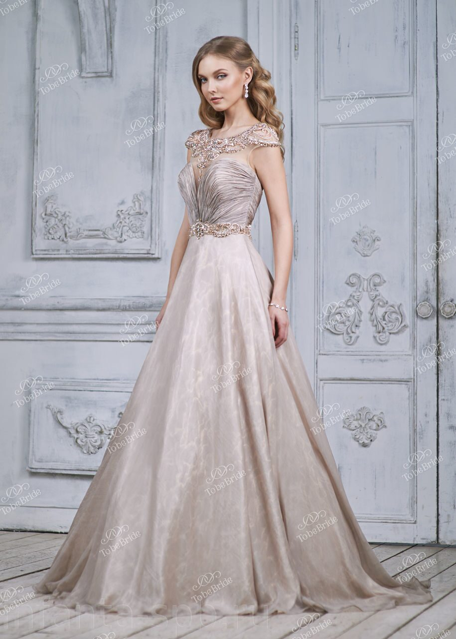 Пышные платья с жемчугом фото
