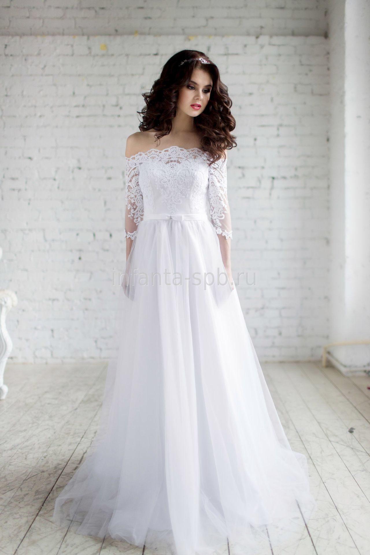 Платье с рукавами купить в спб