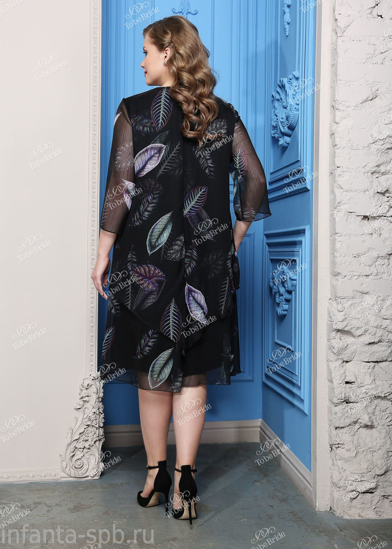 Платье Для Полных Купить Спб