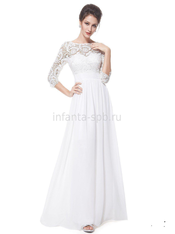 Свадебное платье для полных в спб
