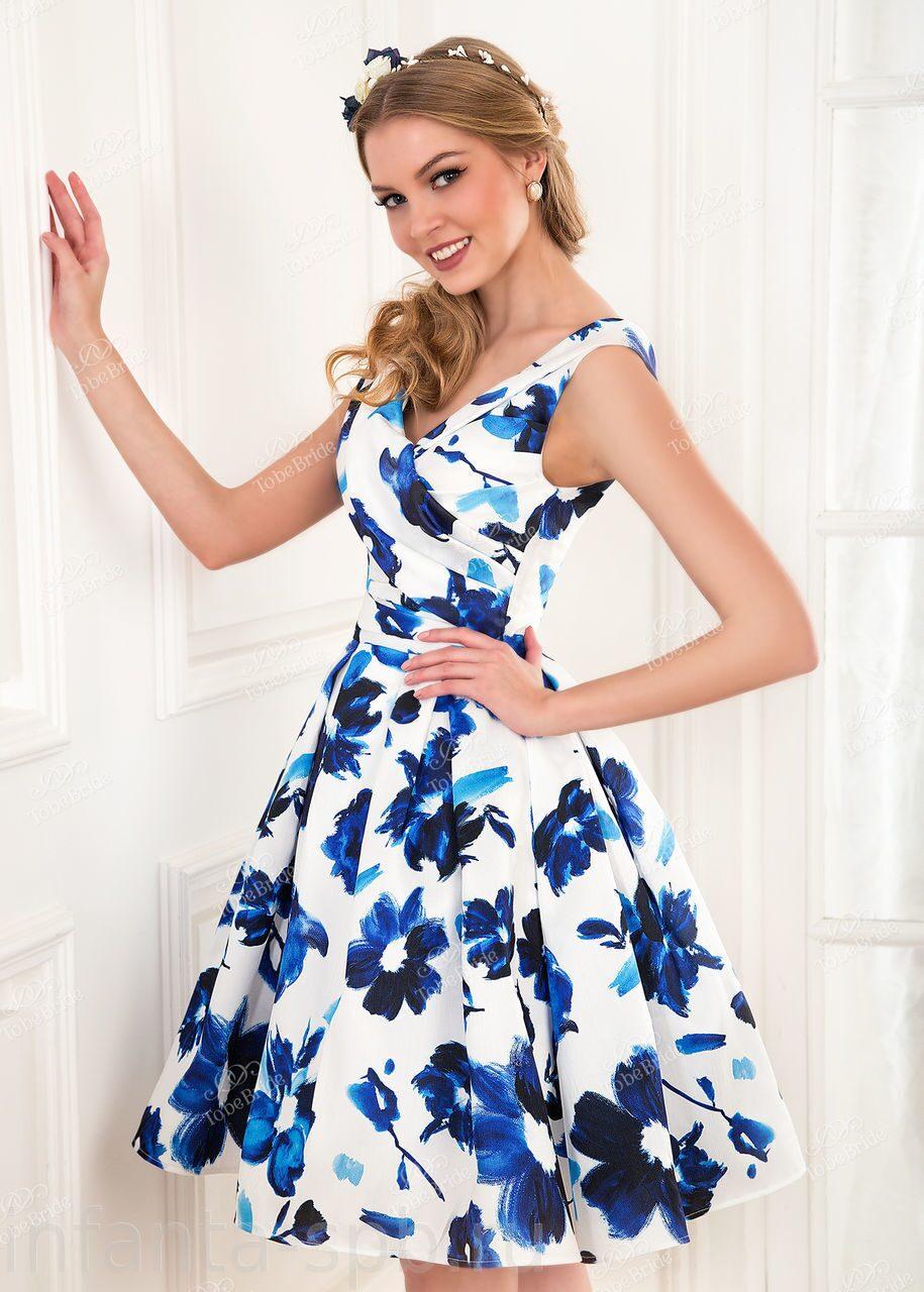 Летнее платье своими руками пышное 85