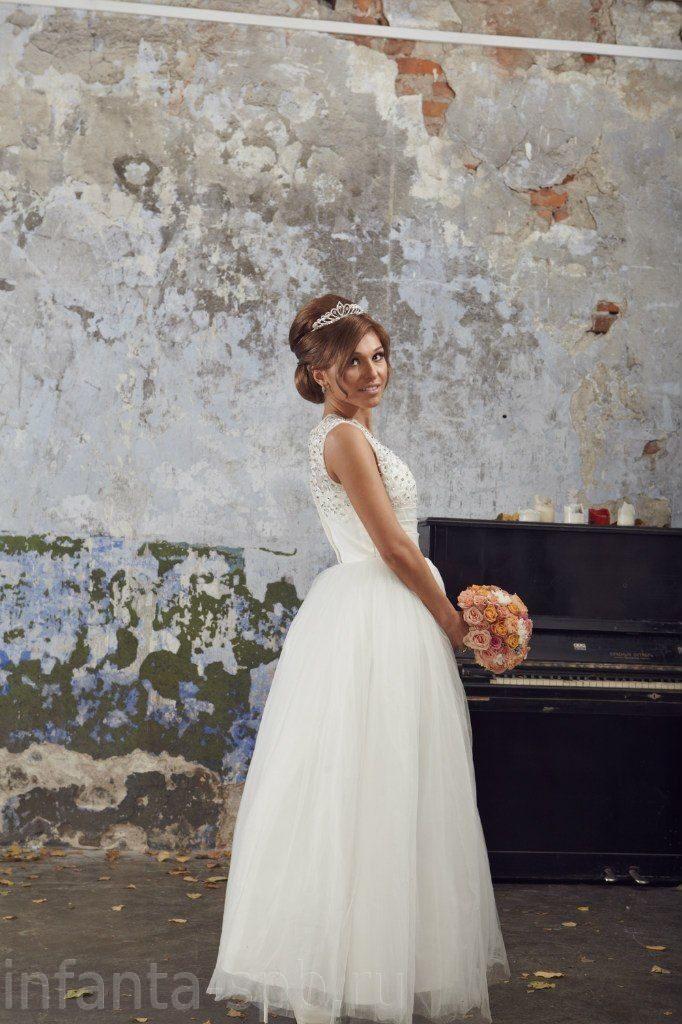 f745c609053 Свадебное платье длиной