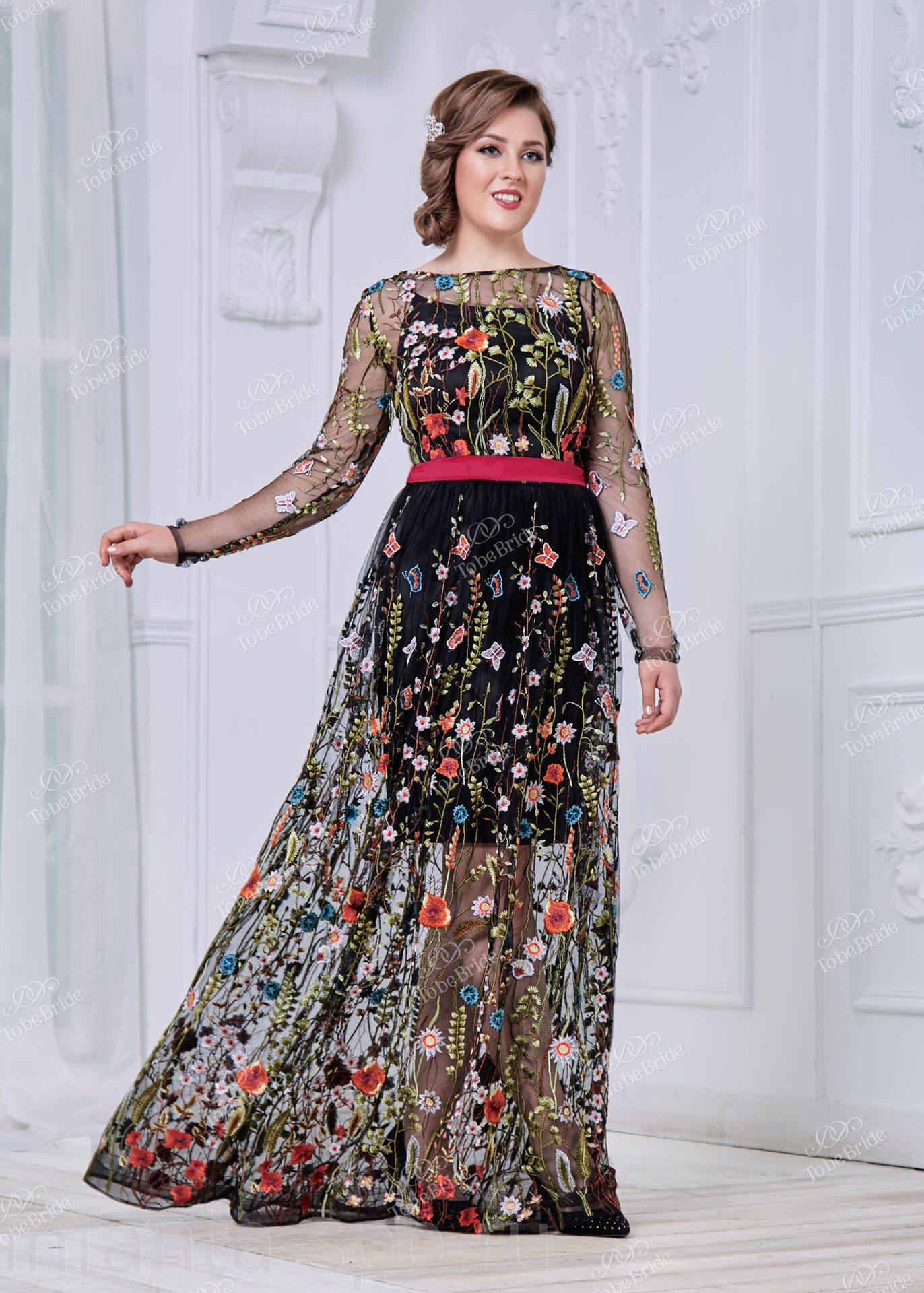 eb0653c9d83 Оригинальное вечернее платье большого размера для мамы жениха