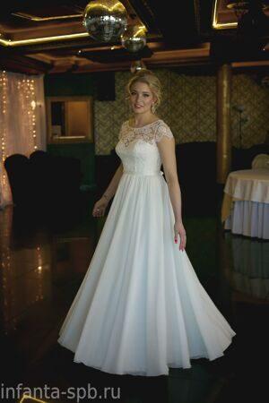 a6fc8b85ba3 Купить. Свадебное платье греческой богини с закрытым кружевным верхом
